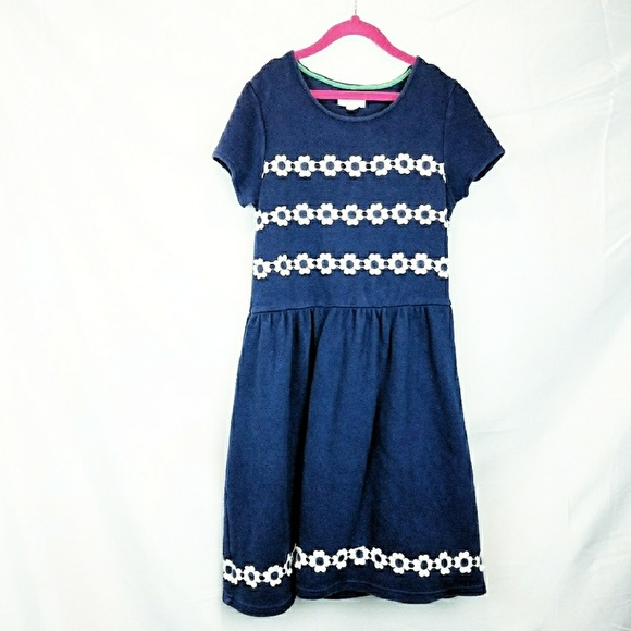 2128b20230399 Mini Boden Dresses | Girls Dress Johnnie B Daisies Blue | Poshmark